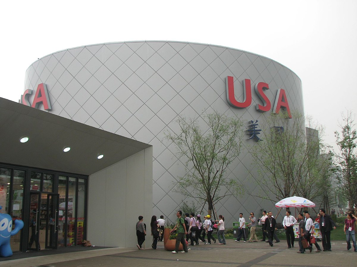 USA pavilion at Expo 2010 - Wikipedia