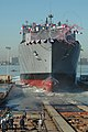 USNS Alan Shepard launching.jpg