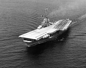USS Antietam (CVS-36) during Bell automatic landing system test 1957.jpeg