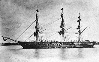 USS Brooklyn (1858) - Image: USS Brooklyn 1858