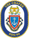 The crest of USS Chafee