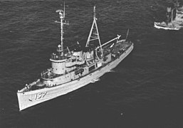 USS Nipmuc ATF 157 Personalized Canvas Ship Photo Print Navy Veteran Gift