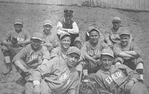 USS Remlik (SP-157) - Remlik's baseball team.