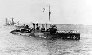 USS <i>Zeilin</i> (DD-313) destroyer