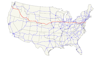 U.S. Route 30 Highway in the United States