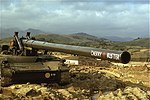 """US Army M107 """"Cherry Buster"""" at The Rockpile.jpg"""