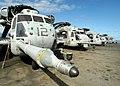 US Navy 030623-N-1512S-516 CH-53E Super Stallions line the deck aboard the amphibious assault ship USS Kearsarge (LHD 3).jpg
