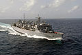 US Navy 030906-N-1671M-033 The fast combat support ship USS Bridge (AOE 10) sails through the Indian Ocean.jpg