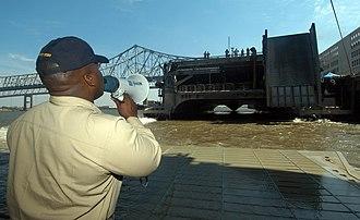 HSV-2 Swift - Swift in New Orleans following Katrina, 6 September 2005