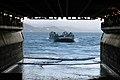 US Navy 070306-N-4207M-089 An Air Cushion Landing Craft prepares to enter the well deck of USS Essex (LHD 2).jpg
