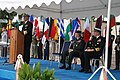 US Navy 071130-N-6544L-001 Adm. Harry Ulrich III reads his orders transferring his title as commander of U.S. Naval Forces Europe and Allied Joint Force Command Naples to Adm. Mark Fitzgerald during a ceremony at the Joint Forc.jpg
