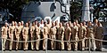 US Navy 080116-N-2218M-002 Graduating members of Submarine Command Course 15 (SCC 15) pose for a photo at Naval Station Pear Harbor, Hawaii.jpg