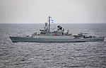 US Navy 100308-N-4774B-741 The Argentine navy Espora-class frigate ARA Gomez Roca (P 46) transits the Atlantic Ocean.jpg