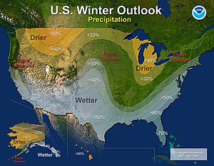 2015–16 North American winter - Precipitation Outlook