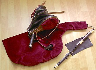 Uilleann pipes - Starter or Practice Set