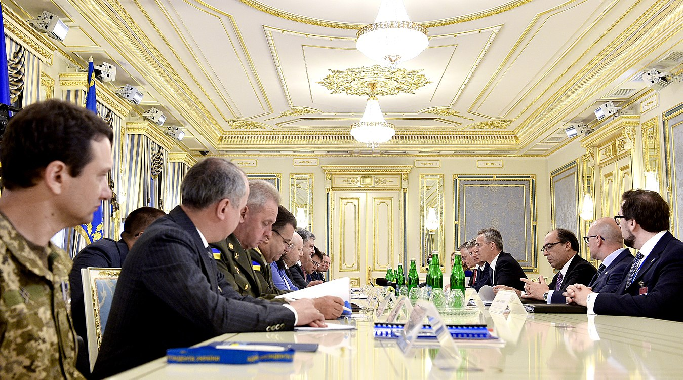 Ukraine – NATO Commission chaired by Petro Poroshenko (2017-07-10) 22.jpg