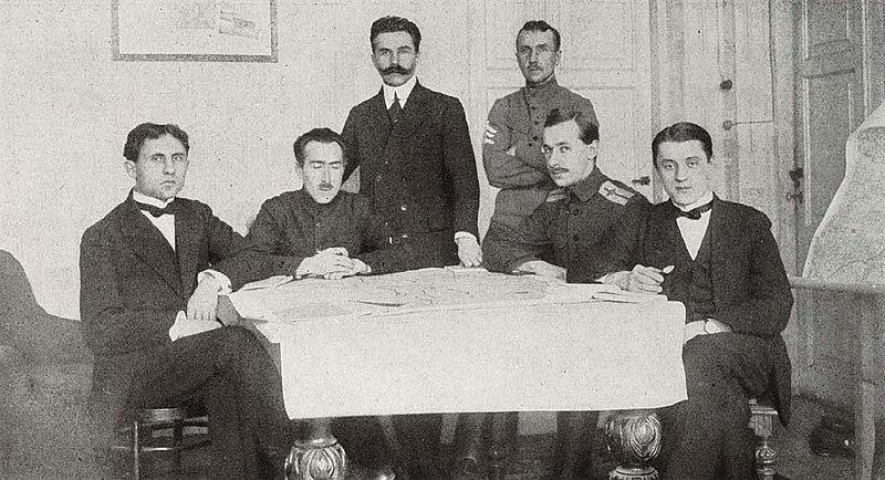 Делегация УНР