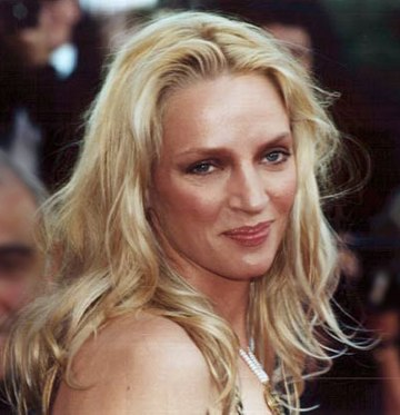 Uma Thurman at the 2000 Cannes Film Festival Uma Thurman - Cannes 2000 (cropped).jpg