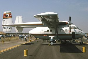 Military of Swaziland - An IAI Arava of the Swazi military air wing at Pretoria AFB Waterkloof (October 1995). This airframe was written off in the 2004 accident.
