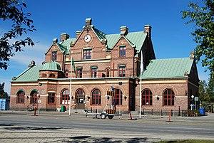 Umeå Central Station - Image: Umeå centralstation