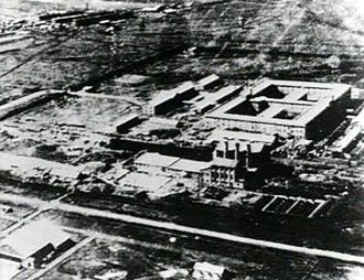 Harbin - Headquarter of the Imperial Japanese Army's covert biological and chemical warfare research and development Unit 731