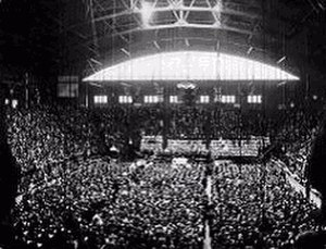 United Church of Canada - Inauguration of United Church at Mutual Street Arena, Toronto, on June 10, 1925