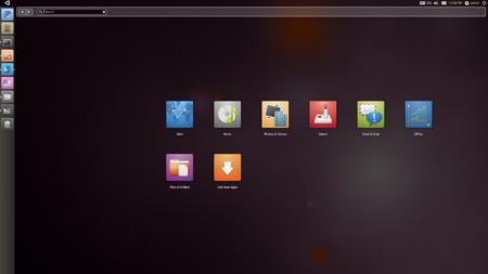 Пример интерфейса Ubuntu Netbook 10.10