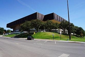 UNT Coliseum - The UNT Coliseum in 2015