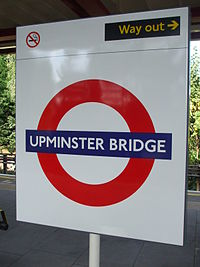 Upminster Bridge stn roundel.JPG