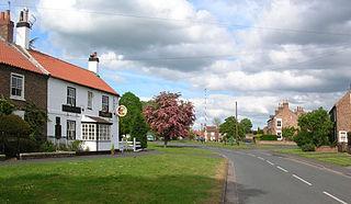 Upper Poppleton Village and civil parish in North Yorkshire, England