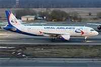 VQ-BNI - A320 - Ural Airlines