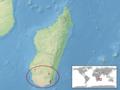 Uroplatus malahelo distribution.png