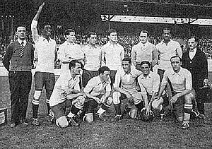 Uruguay national football team - The team that won its second Gold Medal at the 1928 Summer Olympics.