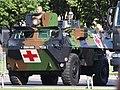 Véhicule de l'Avant Blindé, VAB 4x4, army licence registration 6893 1050 Red Cross, Croix Rouge.JPG