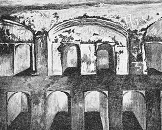 Tombs of the Sanhedrin - Burial niches in the main chamber