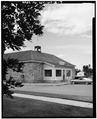 VIEW TO NORTHWEST - Fort Washakie, Building No. 1, Washakie Street, Fort Washakie, Fremont County, WY HABS WYO,7-FOWA,1-I-7.tif