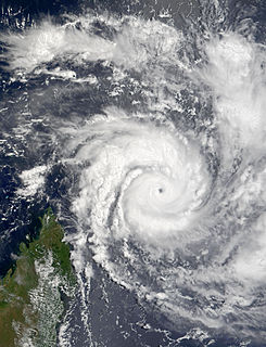 Cyclone Hary South-West Indian cyclone in 2002