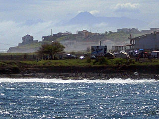 Quebra Canela Neighbourhood in Praia, Santiago Island, Cape Verde