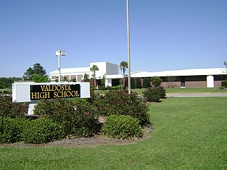 Valdosta High School - Image: Valdosta High School 2
