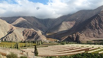 Transverse Valleys - Image: Valle del Elqui