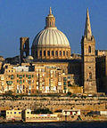 Valletta St Paul's Pro-Cathedral and Basilica Our Lady of Mount Carmel.jpg