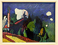 Vassily kandinsky, murnau, paesaggio con torre, 1908.JPG