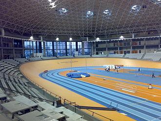 1998 European Athletics Indoor Championships - Image: Velodromo Luis Puig
