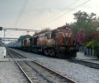 Secunderabad–Dhone section - Venkatadri Express is one of the daily running train in this section