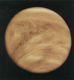 Atmosphere of Venus atmosphere of the planet Venus