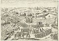 Verdediging van de schans of fort Noordam bij Zevenbergen in 1590 door het Staatse leger onder Matthijs Helt tegen het Spaanse leger onder graaf Karel van Mansfeld (Bartholomeus Willemsz. Dolendo).jpg