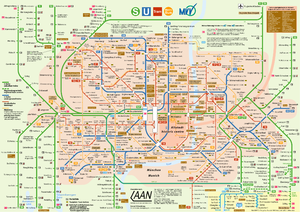 Munich's Public Transport Network 2006