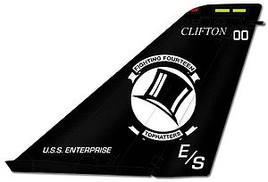 VFA-14 (U.S. Navy) - VF-14 F-14 tail markings
