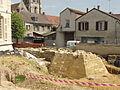 Viarmes (95), fouilles du château médiéval 3.JPG
