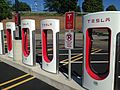 Victor NY (Rochester) Tesla supercharging station 02.jpg